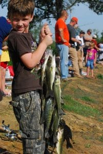 Fishing rodeo at Reelfoot Lake
