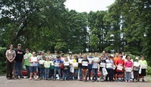 Jr Ranger Program at Reelfoot Lake