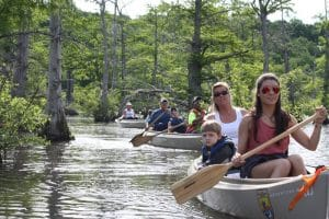 canoe trips at Reelfoot Lake