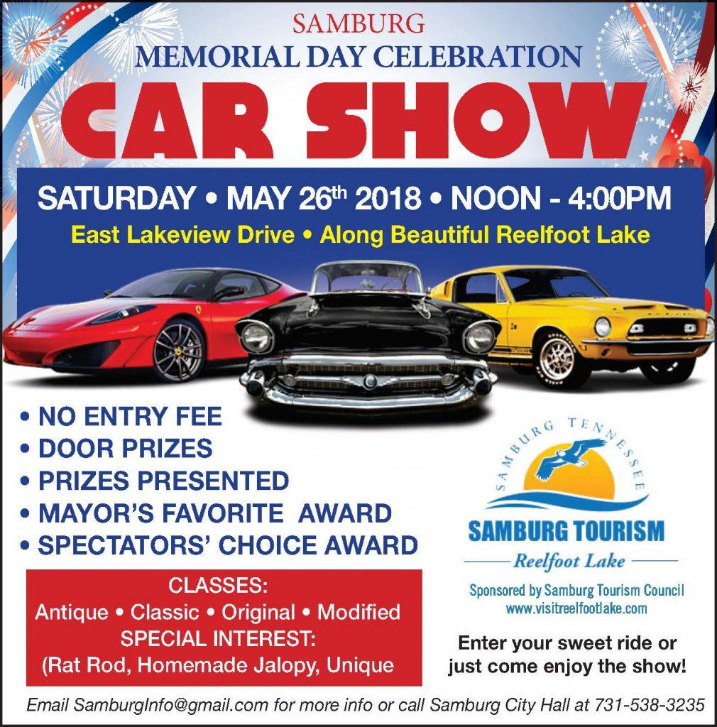 Car Show at Reelfoot Lake Memorial Day