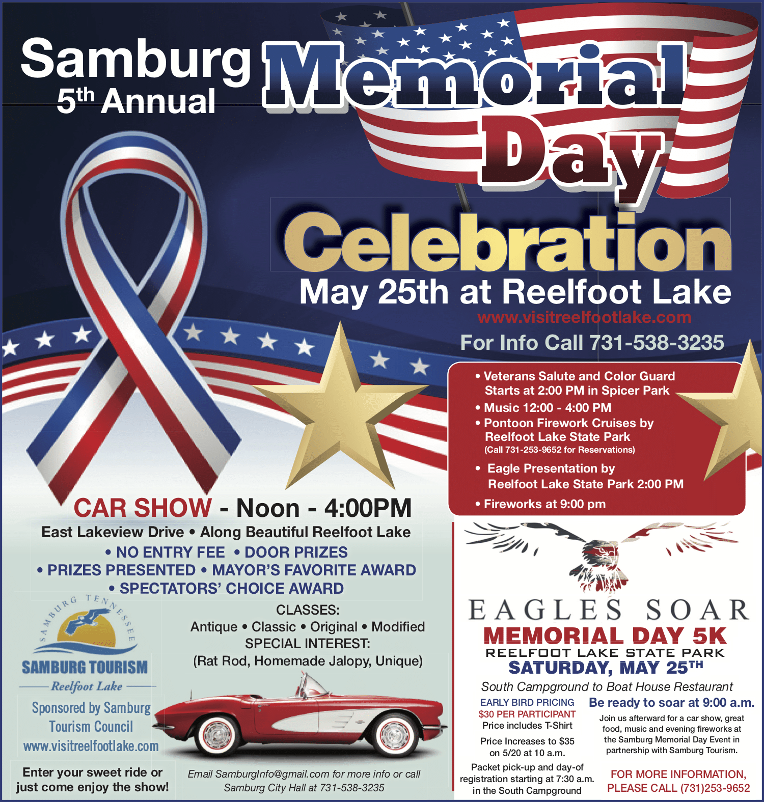 Reelfoot Lake Samburg Memorial Day 2019
