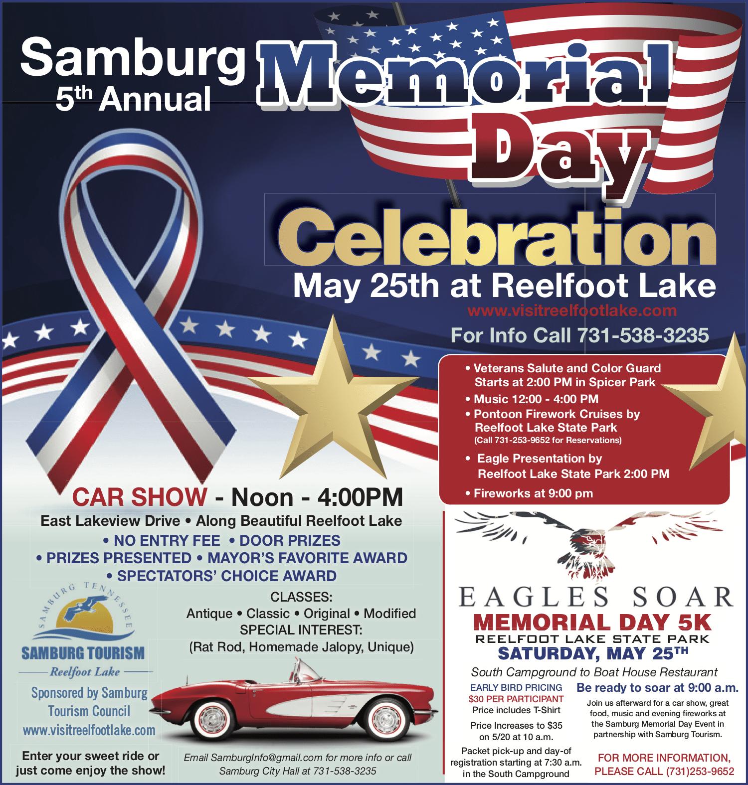 Reelfoot Lake Samburg Memorial Day 2019